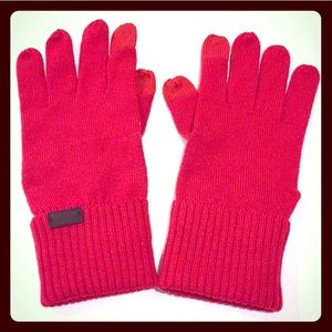 🆕 ONLY 1 PAIR! Coach Knit Tech Gloves